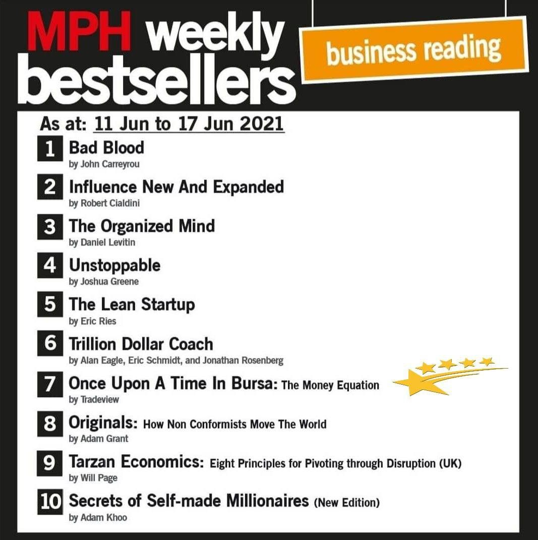 Once Upon A Time In Bursa - Entered MPH Weekly Bestsellers List