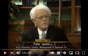 Peter Lynch -  When Should You Sell? (2002 Interview)